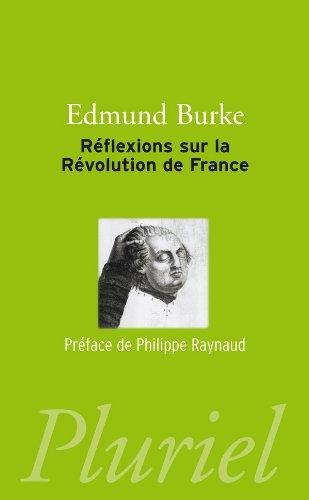 9782818502082: Réflexions sur la révolution de France