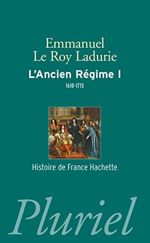 9782818503065: L'Ancien Régime tome 1
