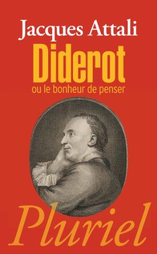 9782818503478: Diderot: ou le bonheur de penser (Pluriel)