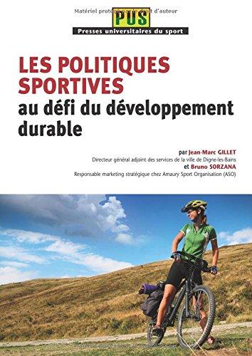 9782818601600: les politiques sportives au defi du developpement durable