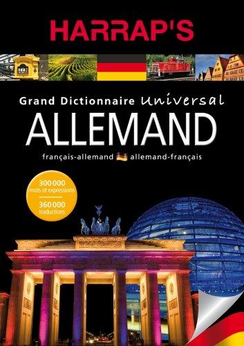 9782818700204: dictionnaire Harrap's universal allemand-français