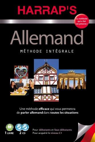 9782818700228: Harrap's Méthode Intégrale allemand 2 CD + livre