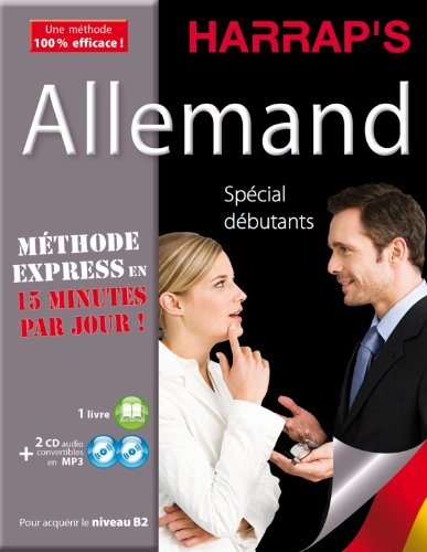 9782818700280: Harrap's Méthode Express Allemand 2CD+livre