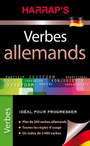 9782818700402: Harrap's Verbes allemands