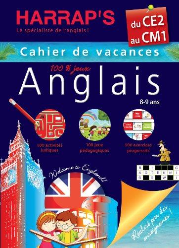 9782818702611: Cahiers De Vacances Harrap's Anglais: Du Ce2 Au Cm1 - Cahier De Vacances 100% Jeux