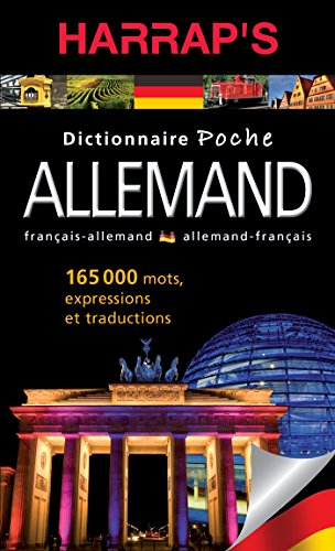 9782818703601: Harrap's dictionnaire poche allemand (Harrap's bilingue allemand)