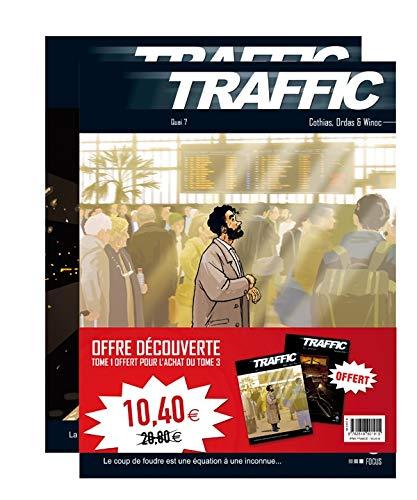 9782818901915: Traffic : Pack 2 volumes : Tome 1, Contre la montre ; Tome 3, Quai n� 7