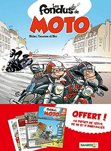 9782818906415: Les fondus de moto, Tome 1 : : Offert Les fondus de moto Le Quiz
