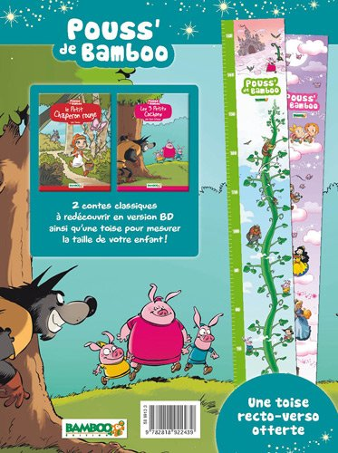 9782818922439: Le Petit Chaperon rouge - Les 3 Petits Cochons : Avec une toise offerte