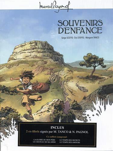 9782818976081: M. Pagnol en BD : Coffret Souvenirs d'enfance