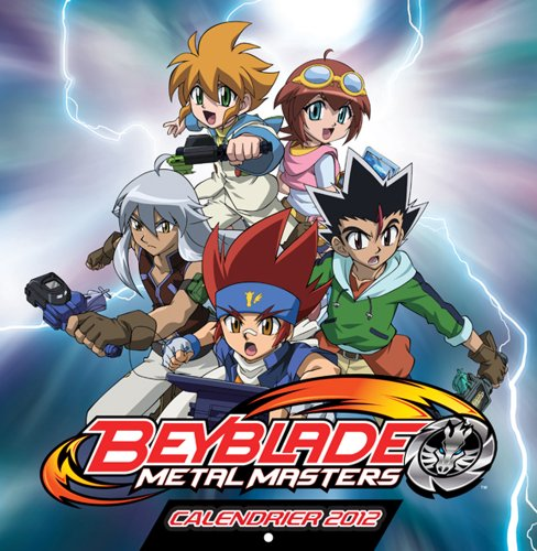 9782820301710: Calendrier 2012 Beyblade M�tal Masters