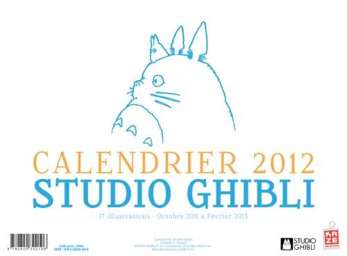 9782820302106: Calendrier 2012 Studio Ghibli