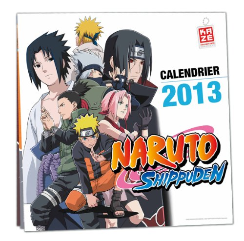 9782820304711: Calendrier 2013 Naruto Shippuden