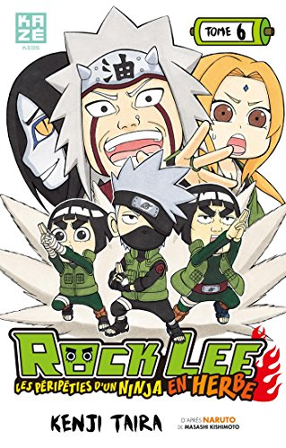 9782820317377: Rock Lee, Tome 6 :