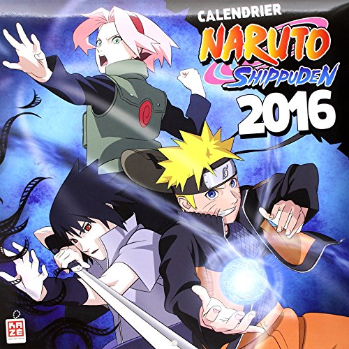9782820321916: Calendrier 2016 Naruto Shippuden