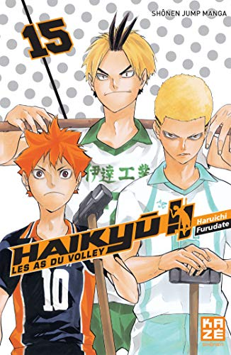 9782820323620: Haikyu !! : les as du volley #15