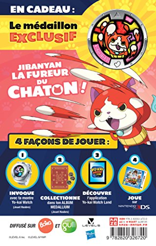 9782820326720: Yo-kai watch t01 collector avec medaillon (Kazé Kids)