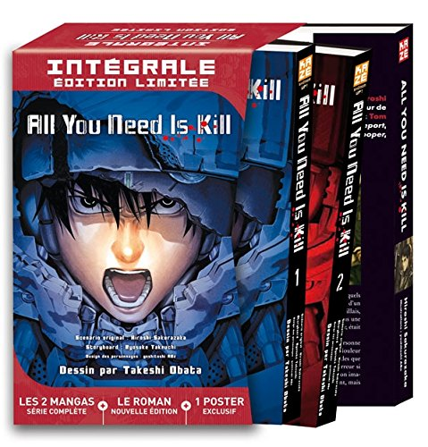 9782820326973: All you need is kill : : Intégrale 2 tomes + roman + poster