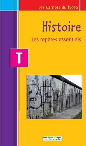 9782820800640: Carnet histoire T - les repères essentiels