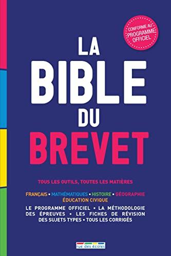 9782820803825: La Bible du Brevet : tous les outils, toutes les matières