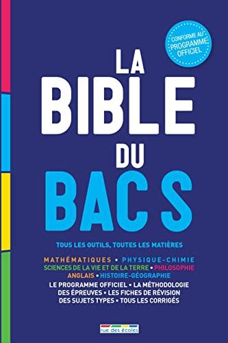 9782820803832: La bible du bac S