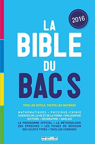 9782820805164: La Bible du bac S, édition 2016