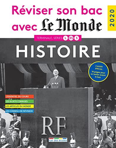 9782820810298: Réviser son bac avec Le Monde 2020 : Histoire, Terminales L, ES, S