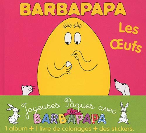 9782821200081: Barbapapa - Les oeufs : 1 album + 1 livre de coloriage + des stickers