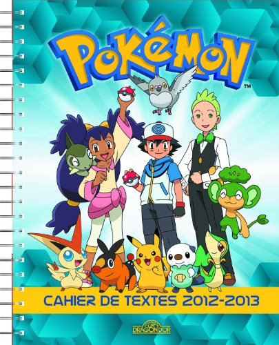 9782821200982: Cahier de Textes Pokémon