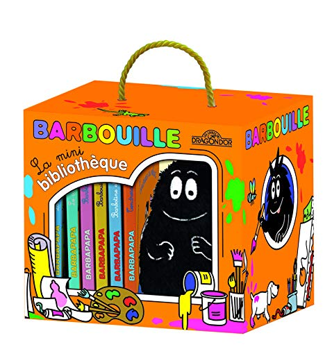 9782821202412: La mini bibliothèque de Barbouille
