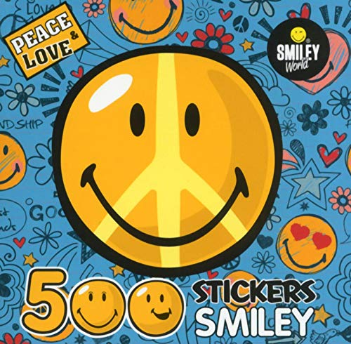 9782821202771: Peace & love : 500 stickers smiley (Smiley World)
