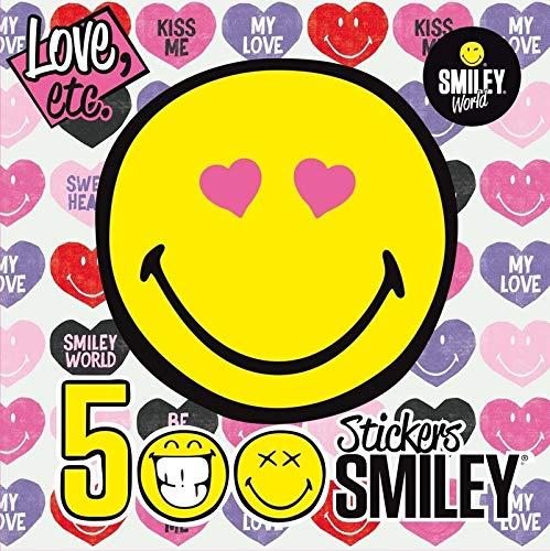 9782821203938: 500 Stickers Smiley - LOVE, ETC
