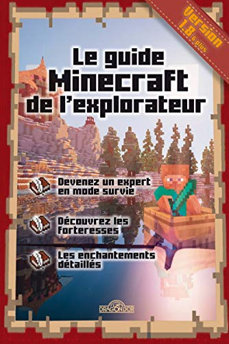 9782821204287: Le guide Minecraft de l'explorateur
