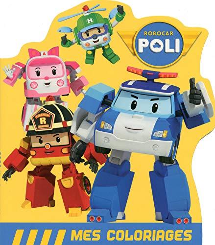 9782821205383: Robocar Poli - Mes coloriages - Les sauveteurs