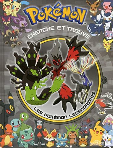 9782821206656: Cherche et trouve les Pokémon légendaires : + 70 stickers