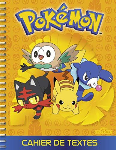 9782821207868: Cahier de textes Pokémon