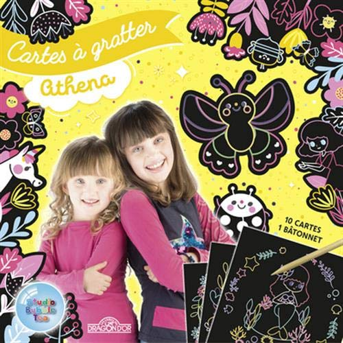 9782821211162: Studio Bubble Tea - Cartes à gratter - Athena