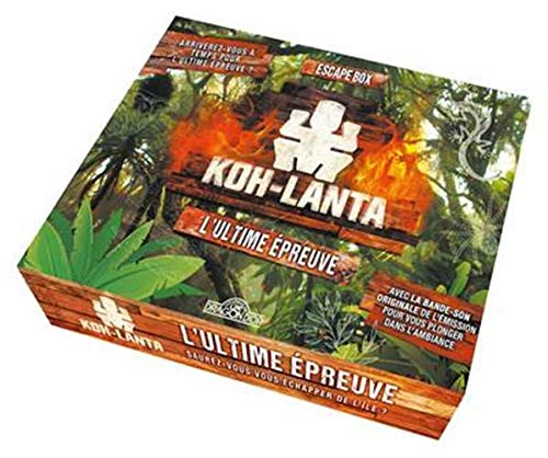 9782821211599: Koh Lanta - Escape box - L'Ultime épreuve