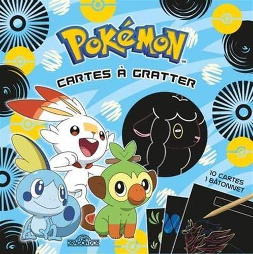 9782821212398: Pokémon - Cartes à gratter (Galar) - Pochette de 10 cartes à gratter - Dès 6 ans