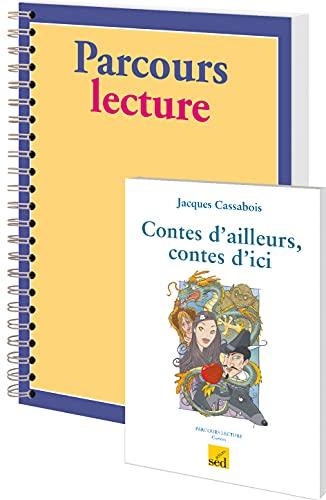 9782822301275: Contes d'ailleurs, contes d'ici, Jacques Cassabois : 12 volumes + fichier Parcours lecture cycle 3