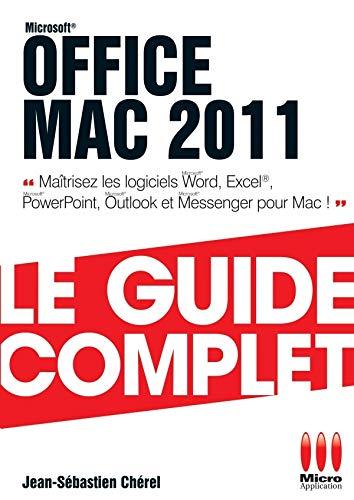 9782822400381: Office Mac 2011
