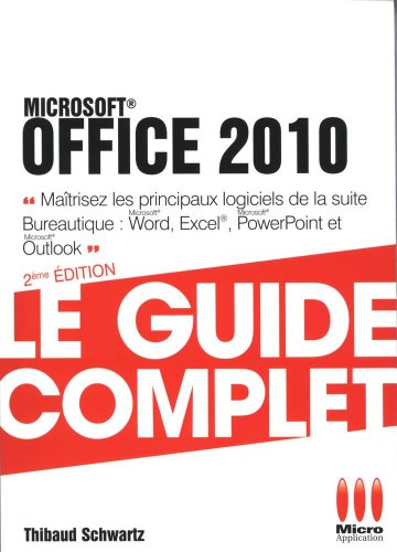 9782822400480: GUIDE COMPLET POCHE�OFFICE 2010