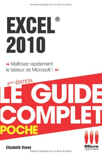 9782822401562: Excel 2010
