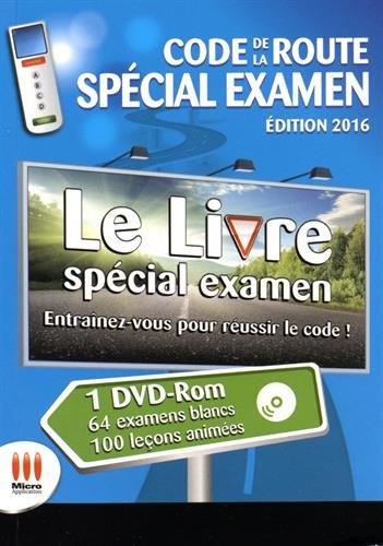 9782822404211: CODE DE LA ROUTE : SPECIAL EXAMEN ED 2016