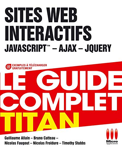 9782822408660: TITAN£DEVELOPPEZ L INTERACTIVITE SITE WEB
