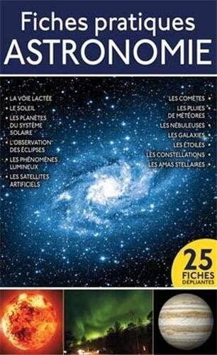 9782822600613: Fiches pratiques astronomie cartes