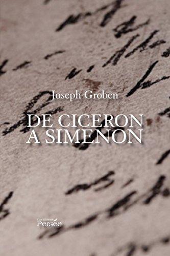9782823106404: De Cicéron à Simenon