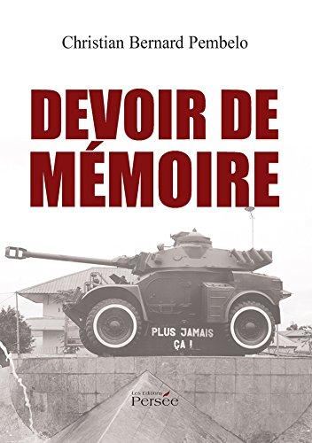 9782823107777: Devoir de m�moire