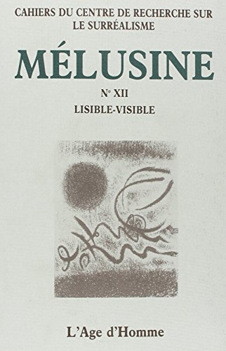 Melusine 12 Lisible-Visible: Collectif