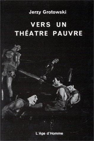 9782825103746: Vers un théâtre pauvre
